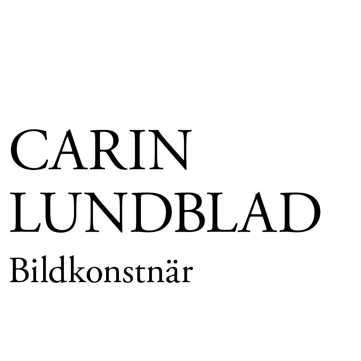 Bildkonstnär Carin Lundblad